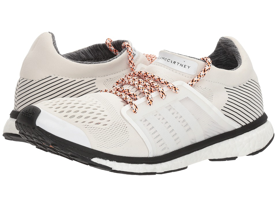 adidas by Stella McCartney - Adizero Adios (Core White/Stone/Core Black) Womens Running Shoes