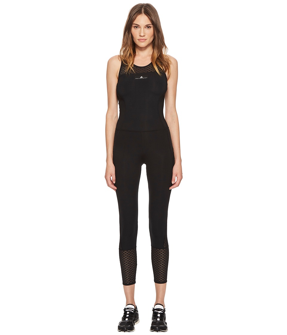 adidas by Stella McCartney - Training Ultimate All-In-One CF3979 (Black) Womens Jumpsuit & Rompers One Piece