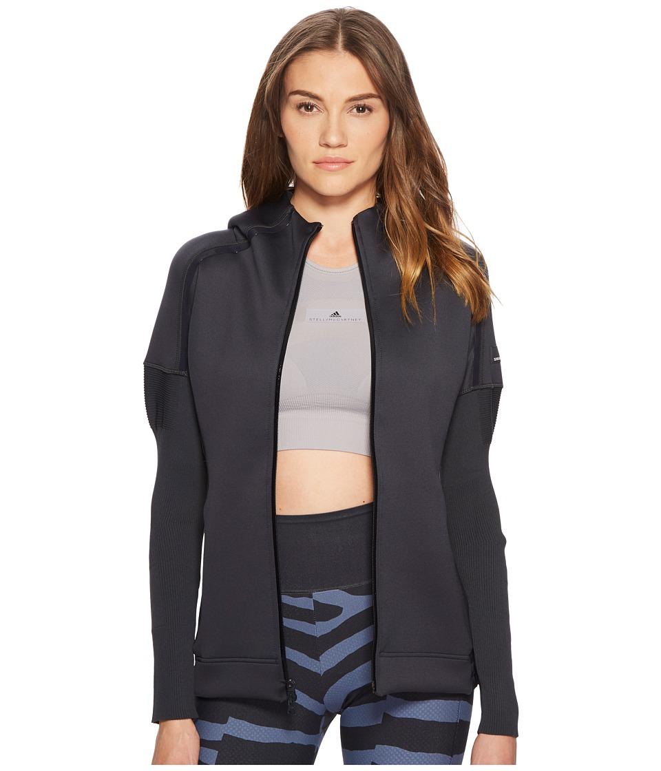 adidas by Stella McCartney - Z.N.E. Hoodie Knitted CG0844 (Night Grey) Womens Sweatshirt