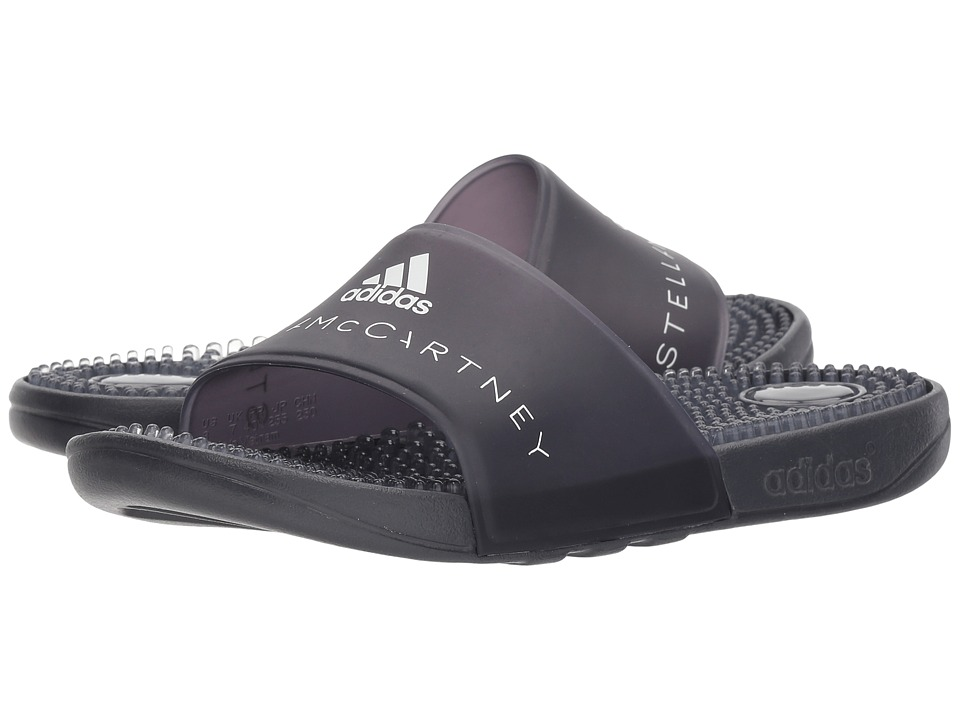 adidas by Stella McCartney Adissage W (Night Steel/SMC/Night Steel/SMC/Footwear White) Sandals