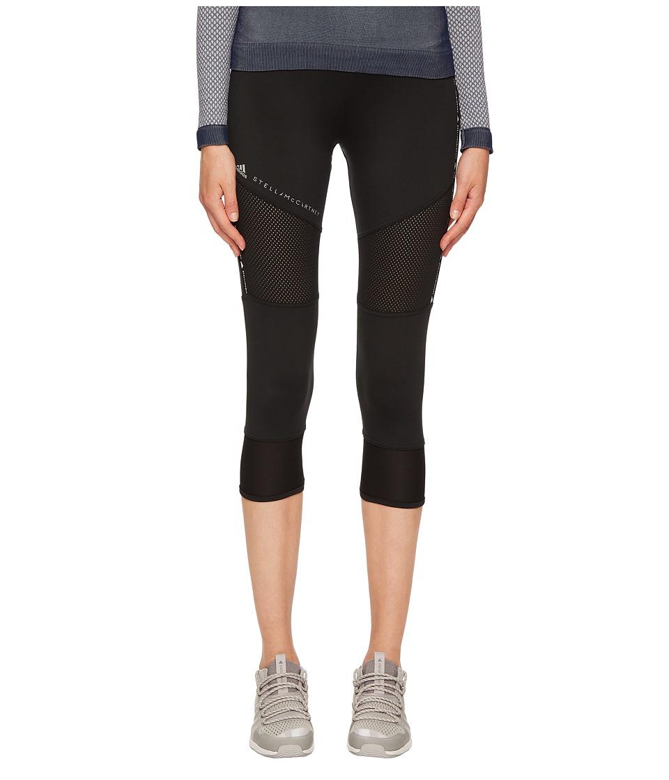 adidas by Stella McCartney - Performance Essentials 3/4 Tights CG0891 (Black) Womens Casual Pants