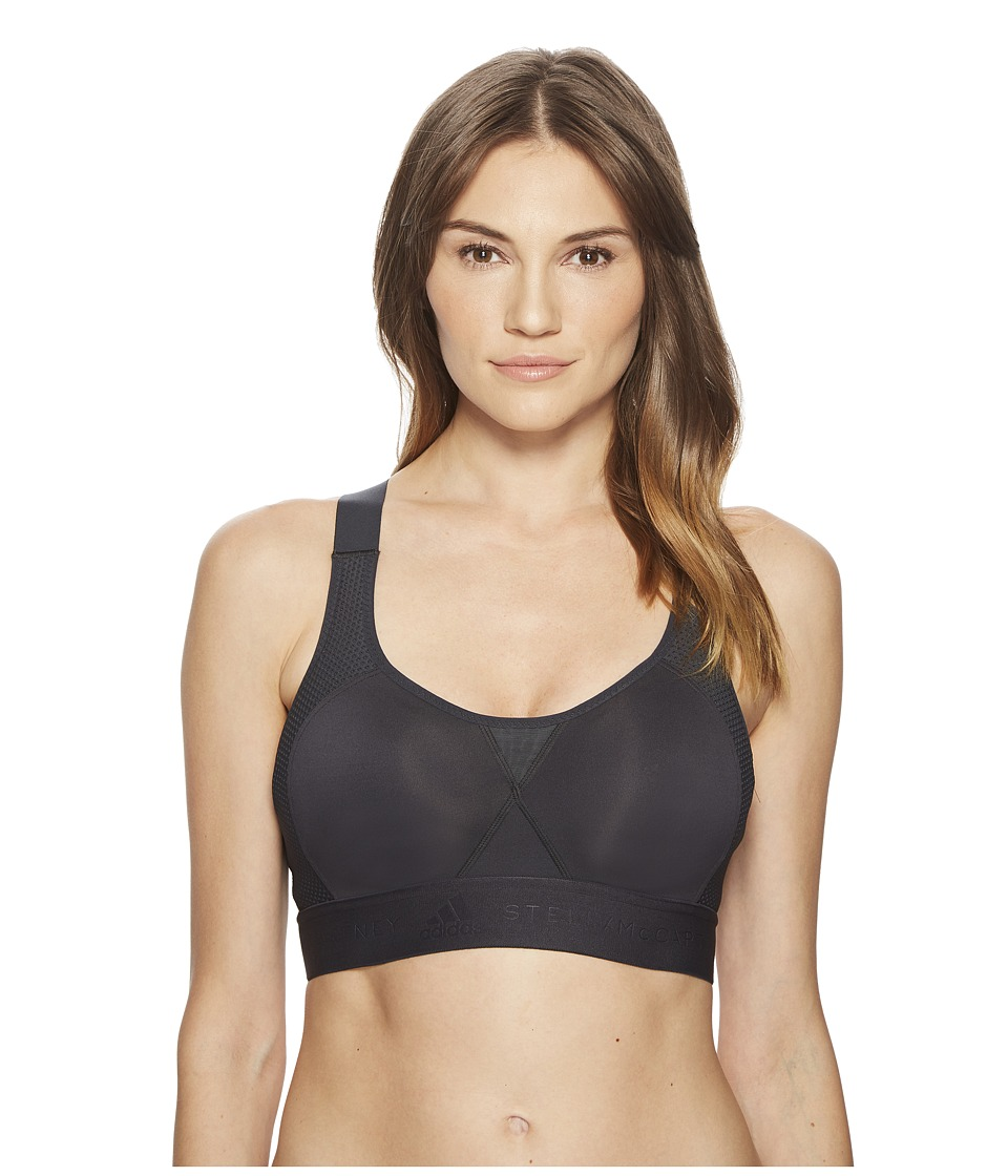 adidas by Stella McCartney - Stronger For It Soft CW0131 (Night Grey) Womens Bra