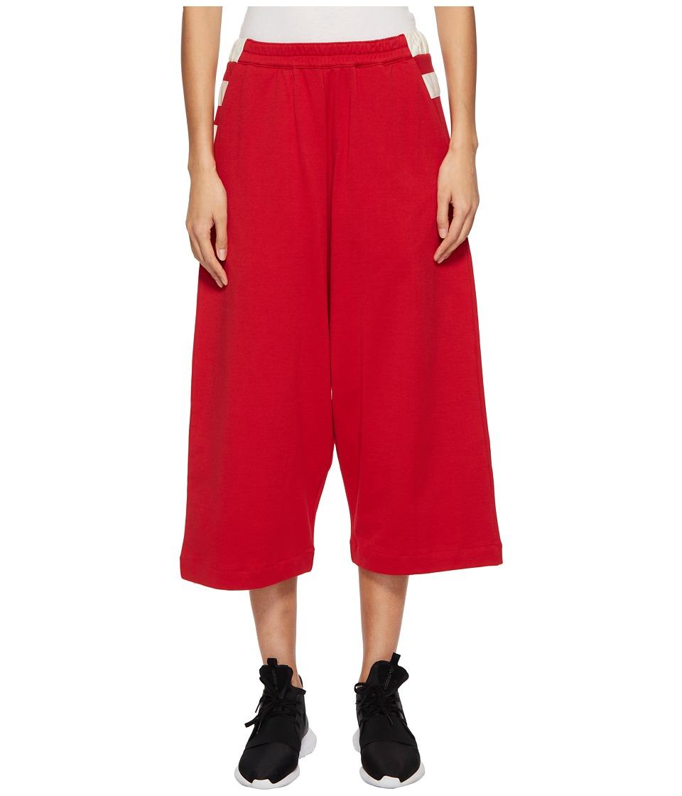 Adidas Y-3 by Yohji Yamamoto - Bold Stripe Pants (Chili P...