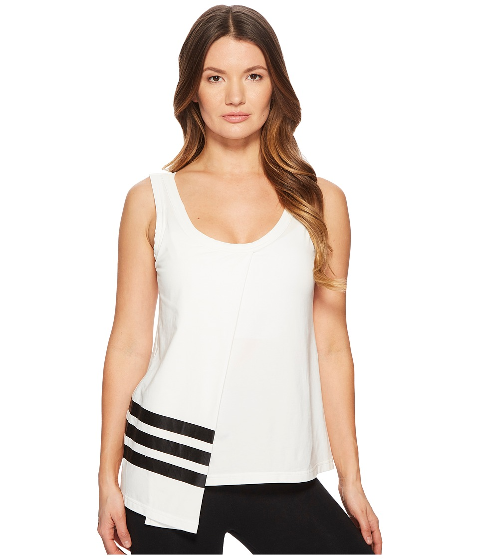 Image of adidas Y-3 by Yohji Yamamoto - 3-Stripes Tank Top (Core White/Black) Women's Sleeveless