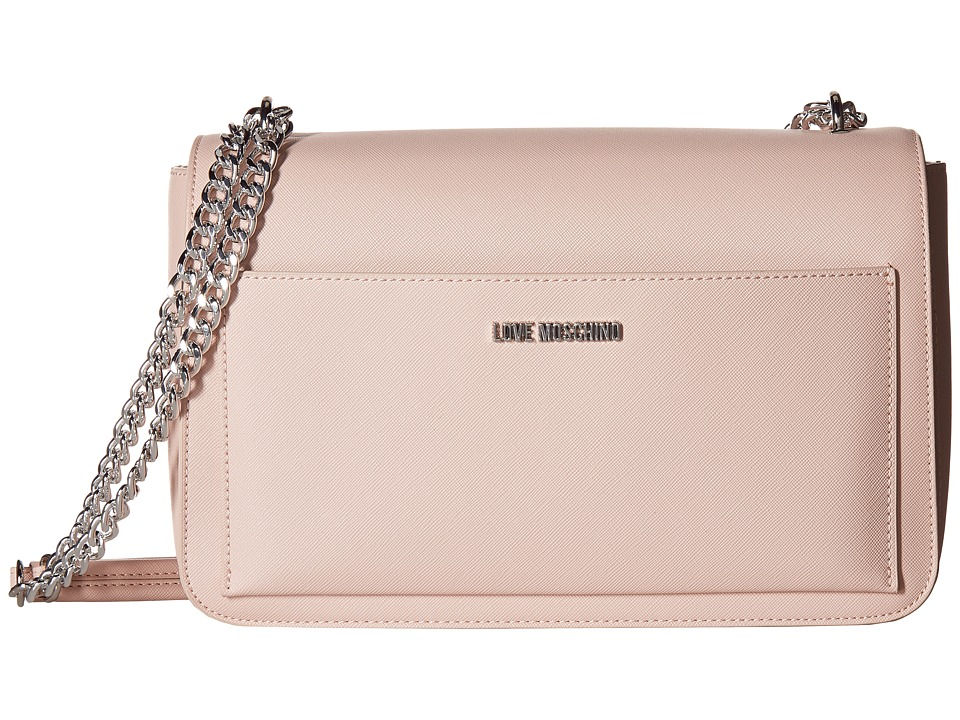 LOVE Moschino - Shoulder Bag (Pink) Cross Body Handbags