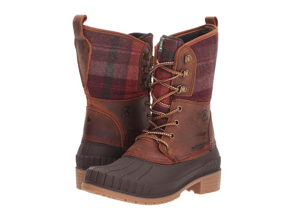 Kamik Sienna 2 (Dark Brown) Women's Cold Weather Boots