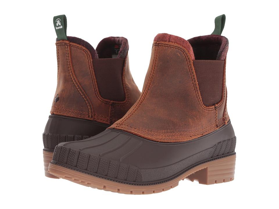 Kamik SiennaC (Dark Brown) Women's Cold Weather Boots