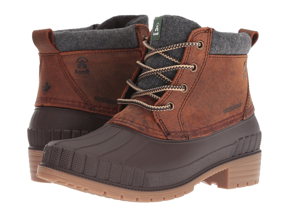 Kamik Evelyn 4 (Dark Brown 2) Women's Cold Weather Boots