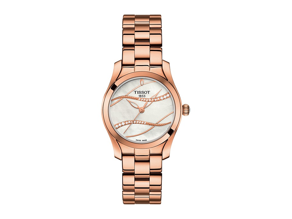 Tissot - T-Wave - T1122103311100 (Silver/Rose Gold) Watches