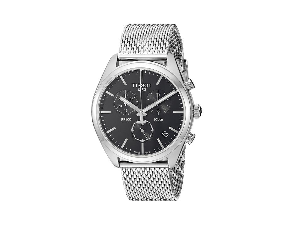 Tissot - PR 100 Chronograph - T1014171105101 (Silver/Grey) Watches
