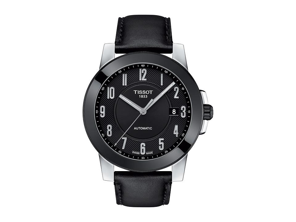 Tissot Gentleman Swissmatic - T0984072605200 (Silver/Blac...
