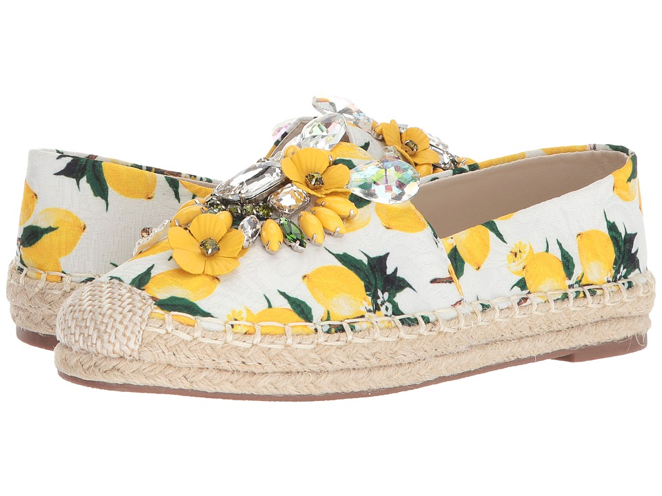 Chinese Laundry - Hayden Flat (Yellow Floral Print) Womens Flat Shoes