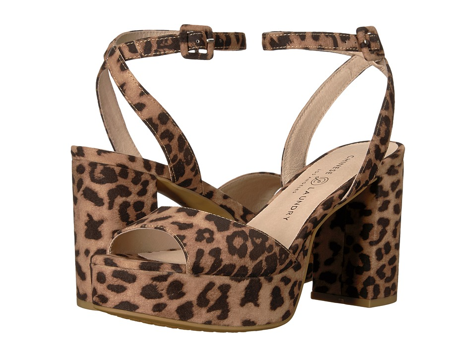 Chinese Laundry Theresa (Natural Leopard) High Heels
