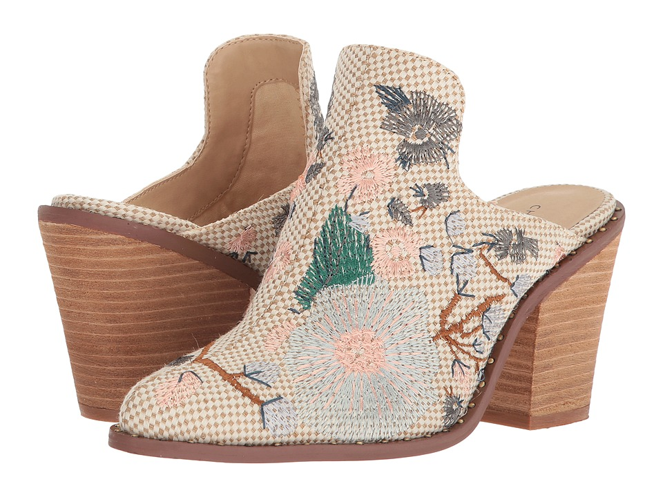 Chinese Laundry Springfield Mule (Natural Woven) High Heels
