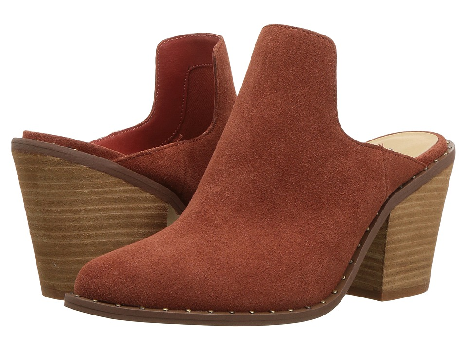 Chinese Laundry Springfield Mule (Clay Suede) High Heels
