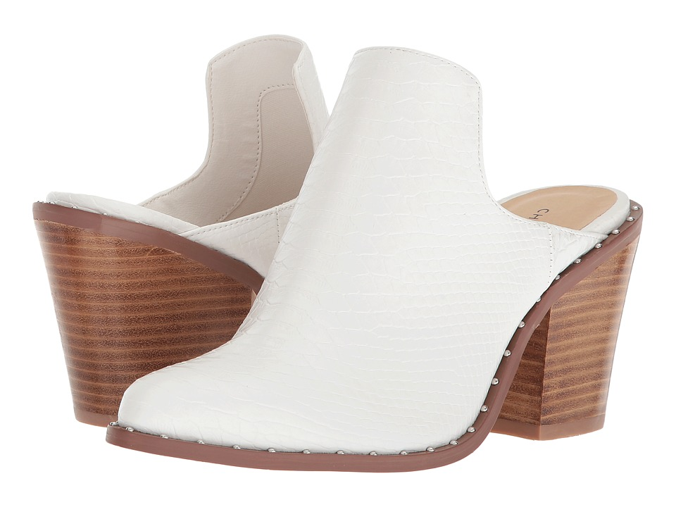 Chinese Laundry Springfield Mule (White Snake) High Heels