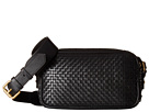 Cole Haan Cole Haan Woven Leather Zoe Camera Bag