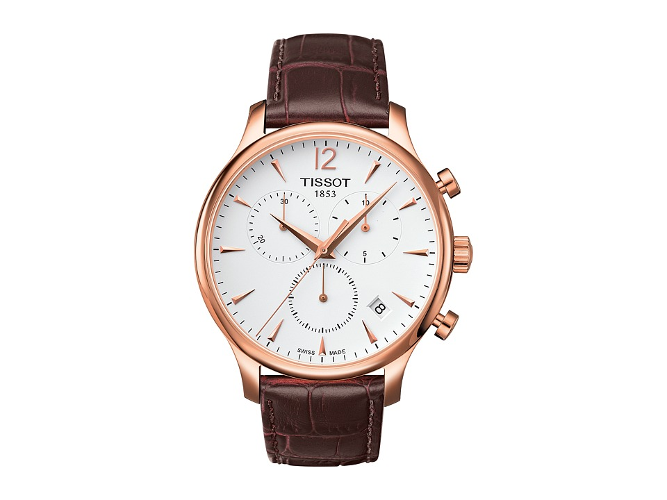 Tissot Tradition Chronograph - T0636173603700 (Mother-of-...
