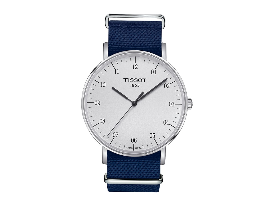 Tissot Everytime Large Nato - T1096101703700 (Silver/Blue...