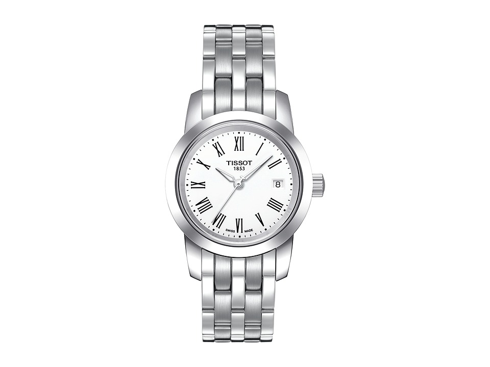 Tissot Classic Dream Lady - T0332101101300 (White/Grey) W...