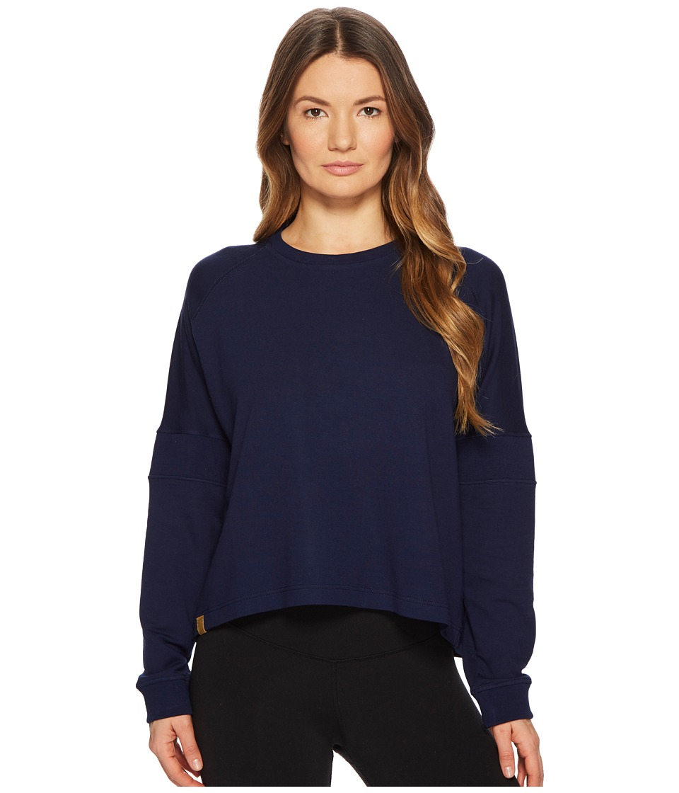 Monreal London - Flex Sweatshirt (Indigo) Womens Sweatshirt