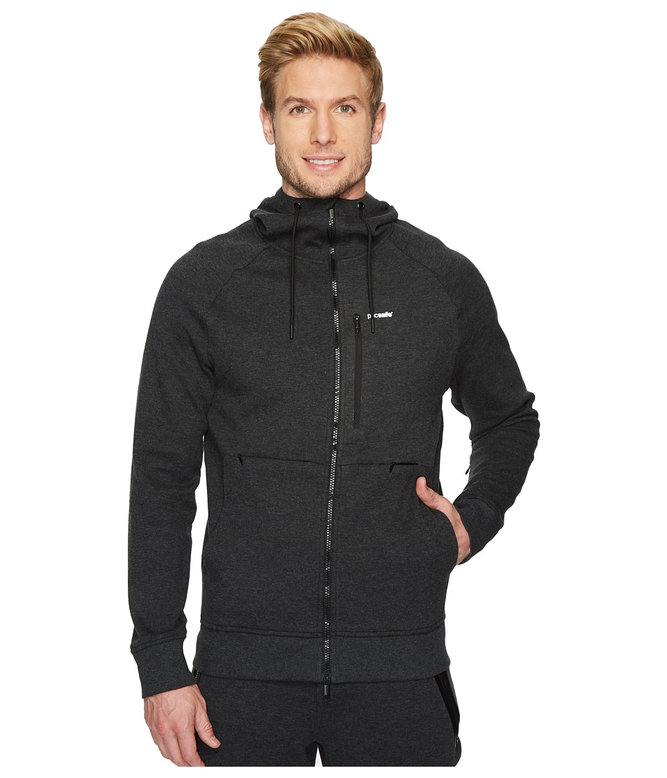Pacsafe Transit Hoodie (Heather Charcoal) Men's Sweatshirt