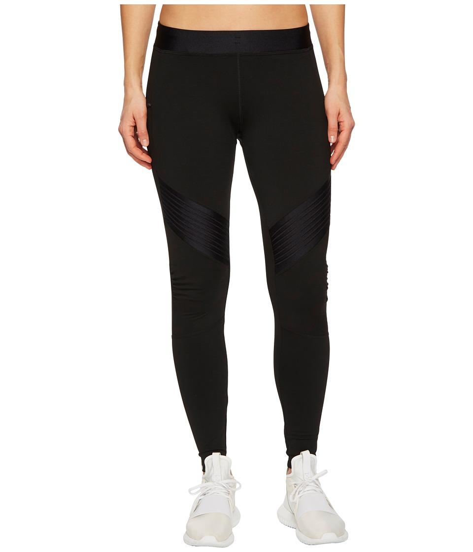 Monreal London - Biker Leggings (Black/Glossy) Womens Casual Pants