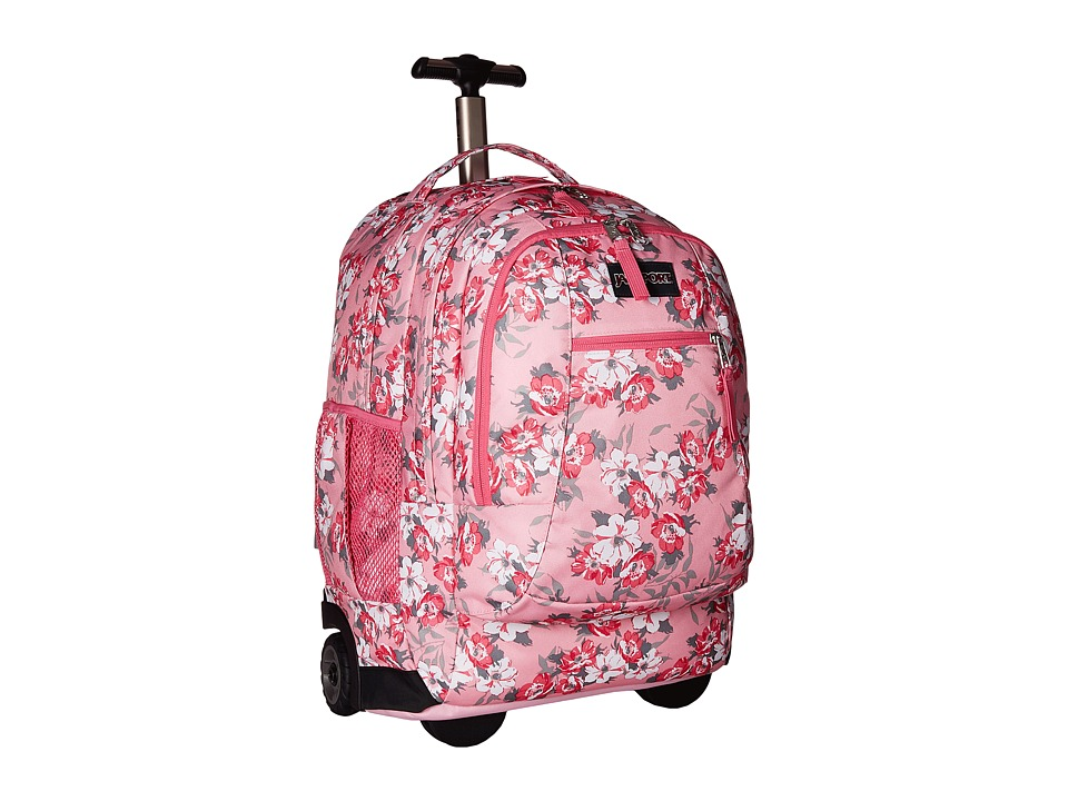 JanSport - Driver 8 (Prism Pink Pretty Posey) Backpack Bags