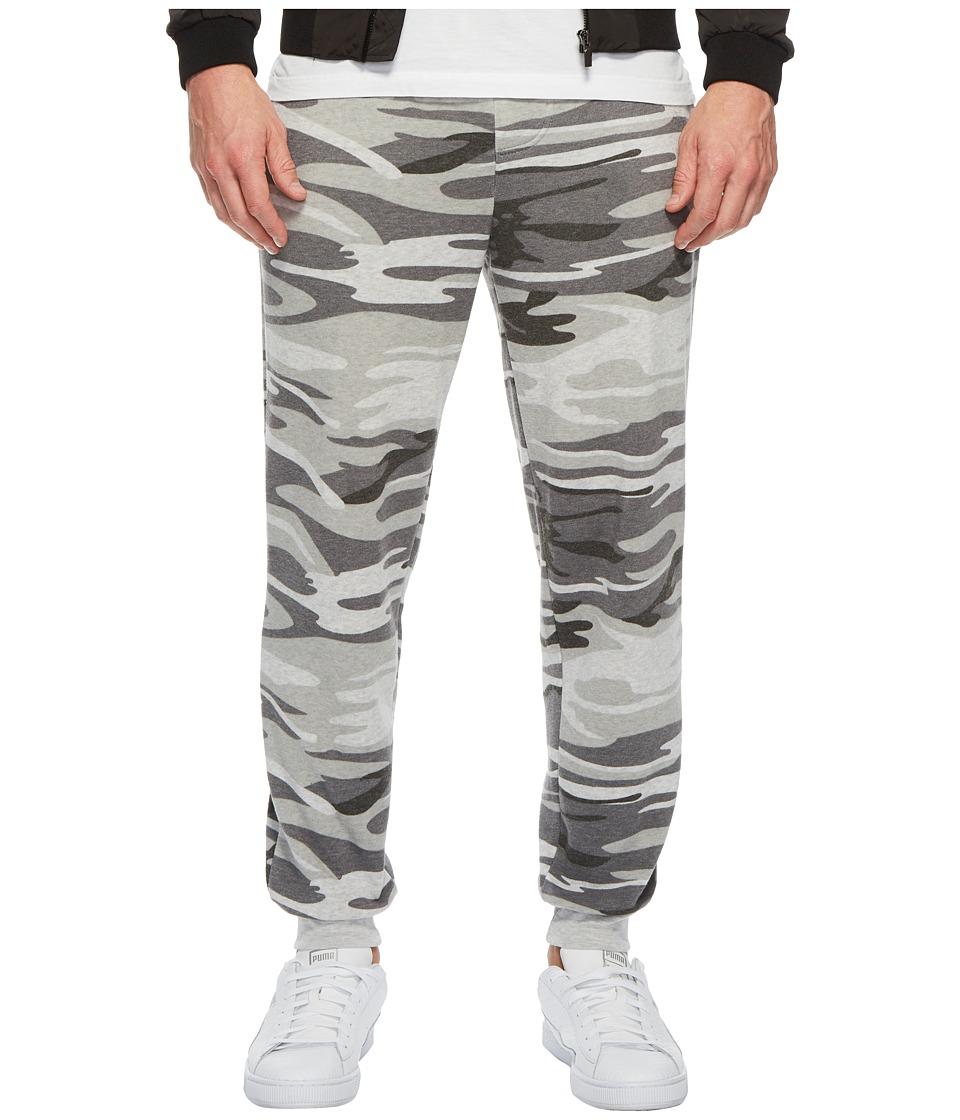 Alternative - Dodgeball Eco Fleece Pants (Oatmeal Camo) Mens Casual Pants