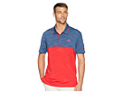 adidas Golf Ultimate Heather Blocked USA Polo