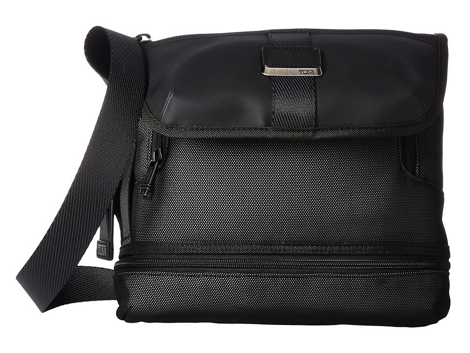 Tumi - Alpha Bravo Travis Crossbody (Reflective Silver) Cross Body Handbags