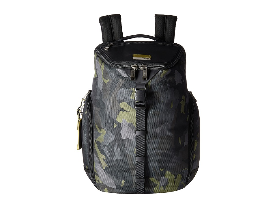 Tumi - Alpha Bravo Willow Backpack (Green Camo) Backpack Bags