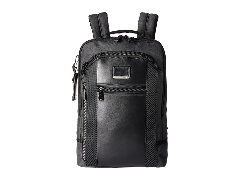Tumi - Alpha Bravo Davis Backpack (Anthracite) Backpack Bags