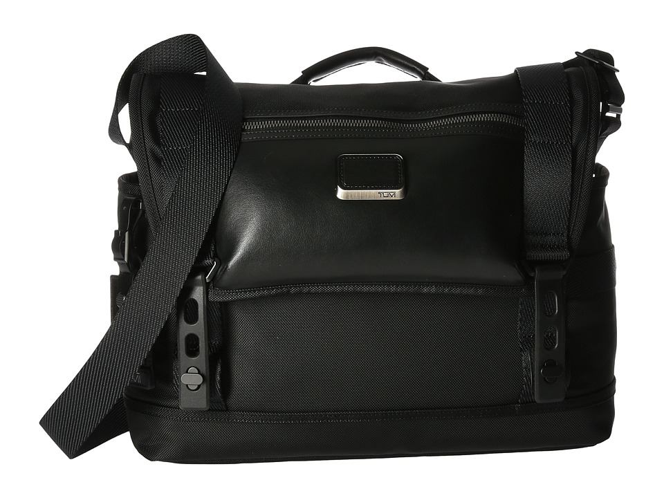 Tumi - Alpha Bravo Fallon Messenger (Black) Messenger Bags