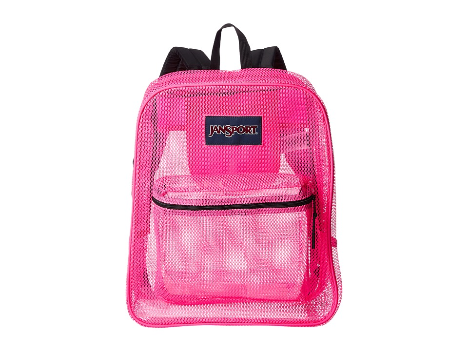 JanSport - Mesh Pack (Ultra Pink) Backpack Bags
