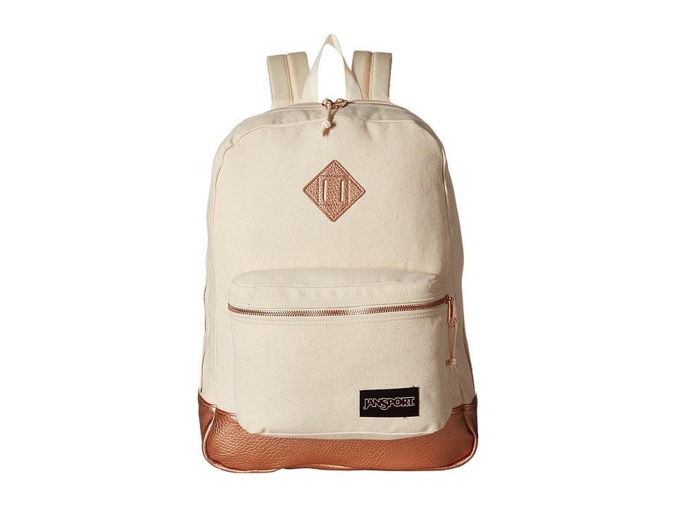 JanSport - Super FX (Rose Gold) Backpack Bags