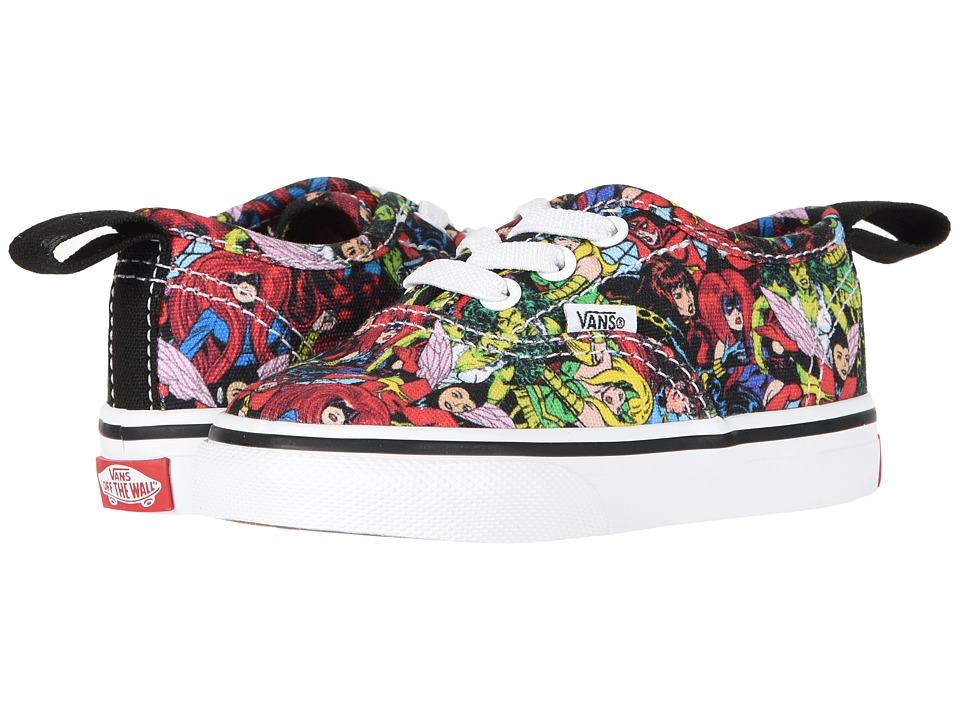 Vans Kids Vans X Marvel(r) Authentic Elastic Lace (Infant/Toddler) ((Marvel) Multi/True White) Kids Shoes
