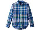 Polo Ralph Lauren Kids Cotton Madras Shirt (Big Kids)