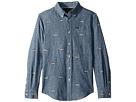 Polo Ralph Lauren Kids Linen-Cotton Chambray Shirt (Big Kids)