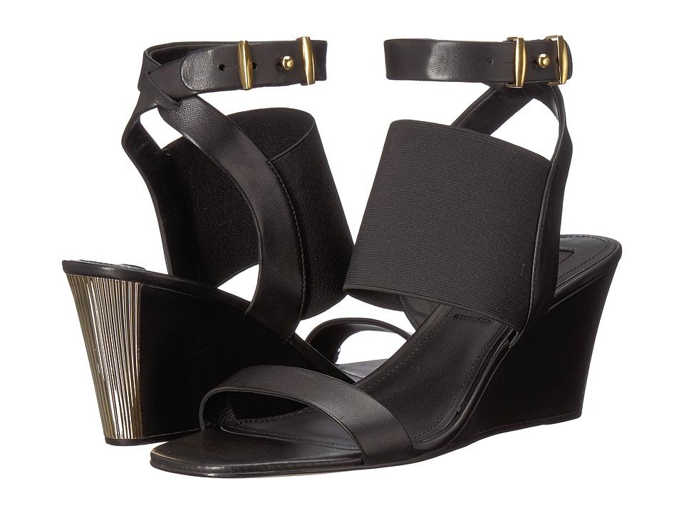 Donna Karan Gili (Black Nappa/Elastic) Women's Shoes
