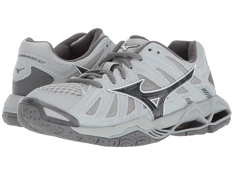 Mizuno Wave Tornado X2 (Grey) Women's Volleyball Shoes