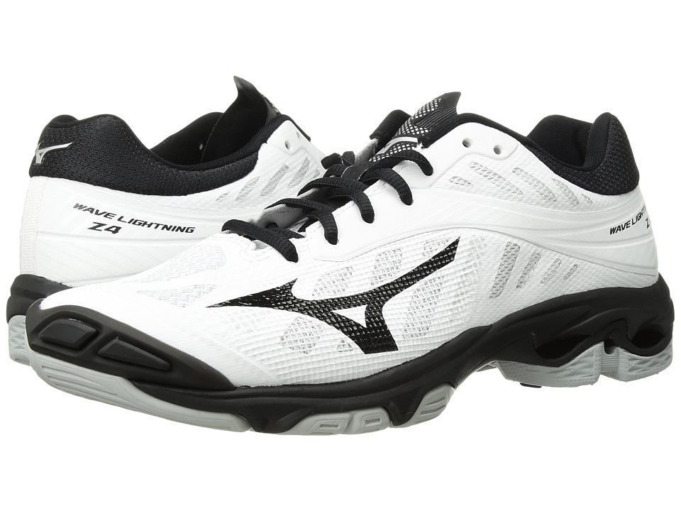 Mizuno Wave Lightning Z4 (White/Black) Women's Volleyball Shoes