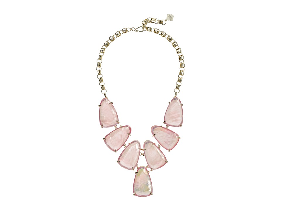 Kendra Scott - Harlow Necklace (Gold/Blush Dyed Ivory Mother-of-Pearl) Necklace