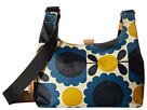 Orla Kiely Orla Kiely Matt Laminated Scallop Flower Spot Mini Sling Bag