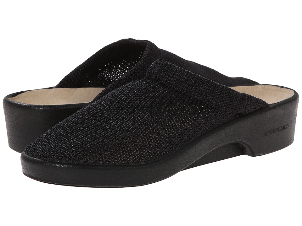 Arcopedico - Light (Black) Womens Clog Shoes