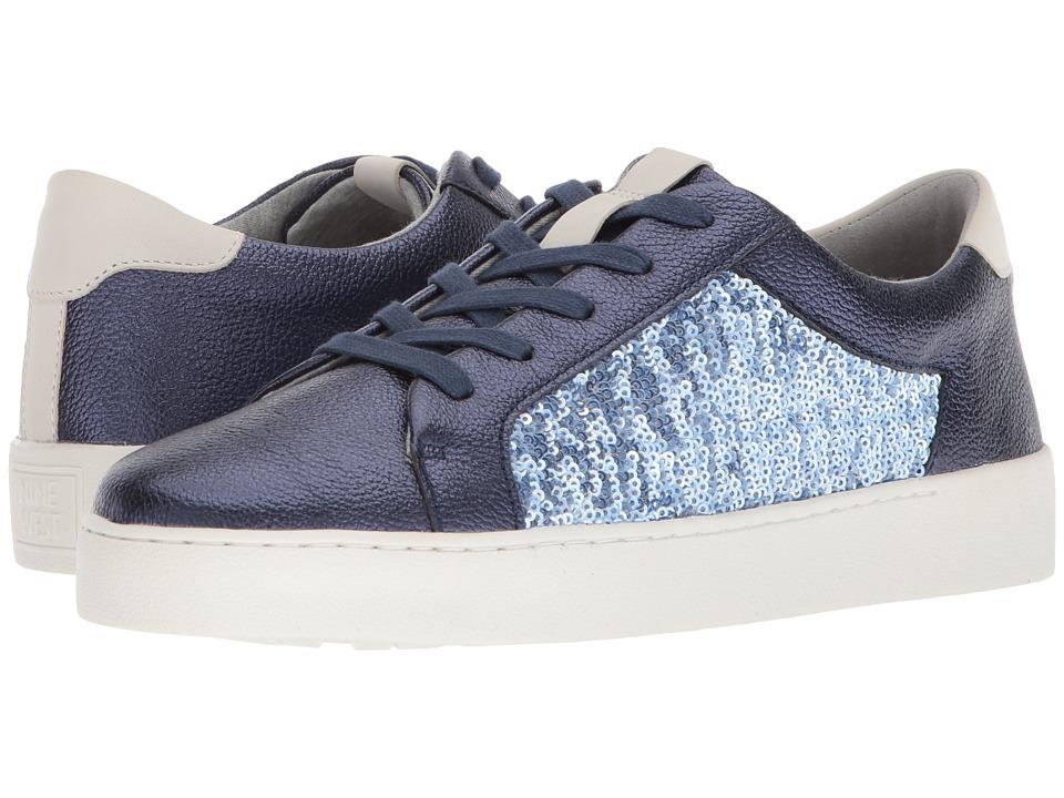 Nine West - Pereo Sneaker (Navy Multi Metallic) Womens Shoes
