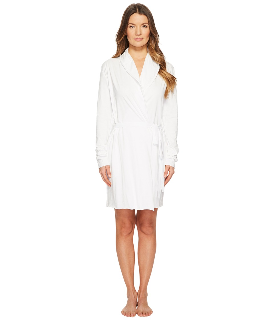 Skin - Double Layer Wrap Robe 34 Length