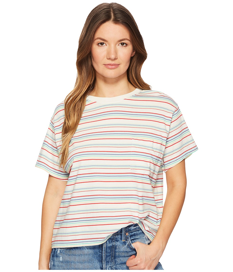 Levis(r) Premium - Premium J.V Tee (Charlie Multicolor) Womens T Shirt