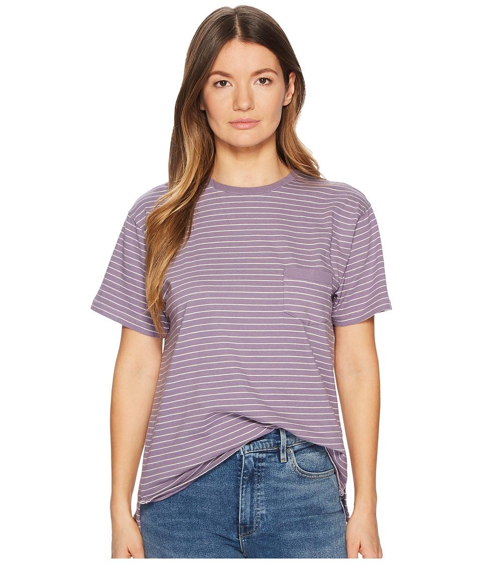 Levis(r) Premium - Vintage Clothing 1940s Split Hem Tee (Faded Violet/Grey) T Shirt