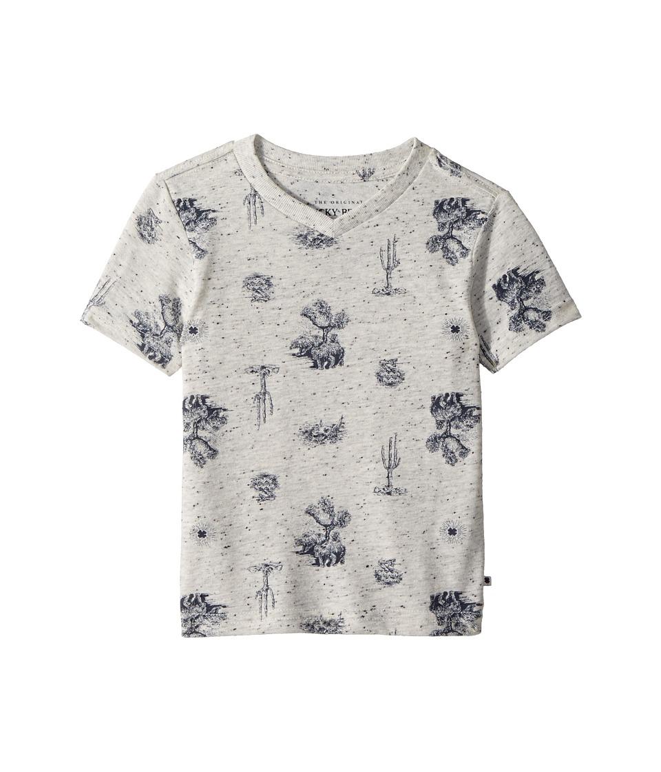 Lucky Brand Kids - Short Sleeve Printed Tee (Toddler) (Oa...